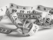 измеряя лента Стоковое Изображение