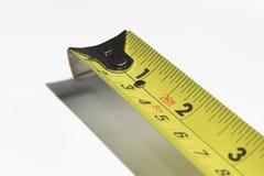 измеряя желтый цвет ленты Стоковая Фотография RF