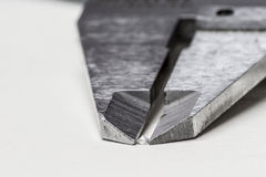 Измеряя диамант Стоковое Фото