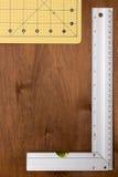 Измеряя инженер инструментов Стоковая Фотография