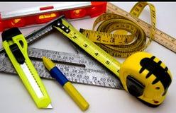 измеряя инструменты Стоковое фото RF