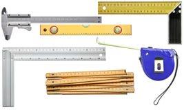 измеряя инструменты Стоковая Фотография RF
