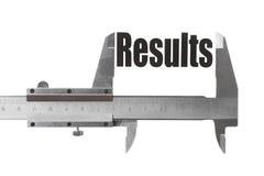 Измеряя результаты Стоковые Изображения RF