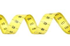 измеряя спиральн лента Стоковые Фотографии RF