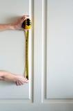 измеряя стена Стоковые Изображения RF