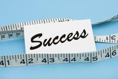 измеряя успех Стоковое Изображение