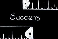 измеряя успех Стоковые Изображения RF