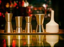 Измеряя чашка, комплект Sheker, бар Стоковые Изображения RF