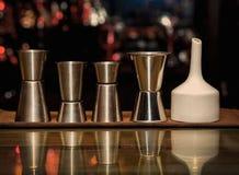 Измеряя чашка, комплект Sheker, бар Стоковое Изображение RF