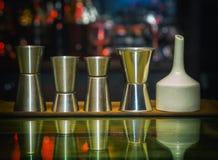 Измеряя чашка, комплект Sheker, бар Стоковые Фото