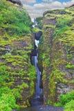 Изобилуя сценарный водопад Стоковые Изображения RF