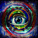 Изображение абстрактного искусства Стоковое фото RF
