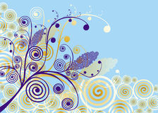 изображение абстракции Стоковое Изображение