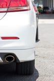 Изображение автомобиля на месте для стоянки. Стоковая Фотография
