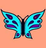 Изображение 2 бабочки Стоковые Фото
