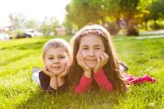 Изображение брата и сестры Стоковые Фотографии RF