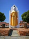 Изображение Будды в положении стоя держа его руку вверх Это Budd стоковая фотография rf