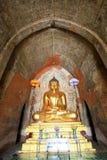 Изображение Будды виска Htilominlo, Bagan, Мьянма Стоковое фото RF