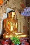 Изображение Будды виска Htilominlo, Bagan, Мьянма Стоковое Изображение