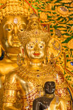 изображение Будды золотистое Стоковые Фотографии RF