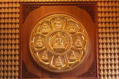 изображение Будды золотистое Стоковое Изображение
