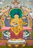 Изображение Будды на ткани Стоковые Фотографии RF