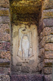 Изображение Будды руин стоковые изображения rf