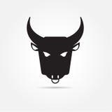 Изображение вектора буйвола на белой предпосылке Стоковая Фотография