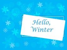 Изображение вектора зимы Стоковое Изображение RF