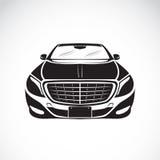 Изображение вектора дизайна автомобиля на белой предпосылке Стоковое Изображение RF