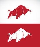 Изображение вектора дизайна быка иллюстрация штока