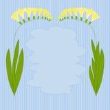 Изображение вектора красочных цветков Стоковые Изображения