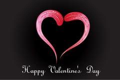 Изображение вектора логотипа сердца любов стилизованное стоковые фото