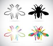 Изображение вектора насекомые Стоковое фото RF