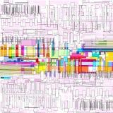 Изображение вектора пестротканых геометрических форм бесплатная иллюстрация