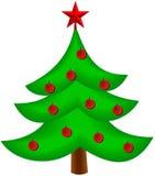Изображение вектора рождественской елки Стоковые Фото