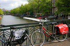 Улица Амстердам стоковое изображение rf