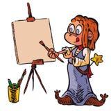 Изображение ведьмы Иллюстрация вектора