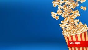 Изображение взрыва попкорна Стоковое Изображение RF