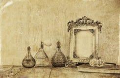 Изображение викторианской винтажной античной классической рамки Стоковое Фото