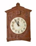 Изображение винтажных настенных часов Стоковое Изображение RF