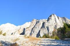 Изображение восточных Карпатов, ресервирование Piatra Craiului естественное, Румыния Стоковая Фотография