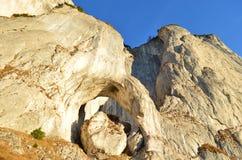 Изображение восточных Карпатов, ресервирование Piatra Craiului естественное, Румыния Стоковые Фотографии RF