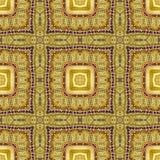 Изображение высекаенного золотого орнамента Стоковые Фотографии RF