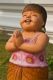Изображение высекает камень, на тайском Стоковые Фотографии RF