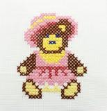 изображение вышивки медведя Стоковые Изображения