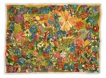изображение вышивки handmade Стоковое Изображение