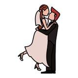 изображение влюбленности свадьбы пар Стоковое фото RF