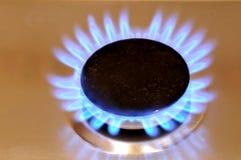 изображение газа пламени темноты Стоковые Фото