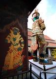 Изображение гигантской статуи, демона предохранителя Стоковые Изображения
